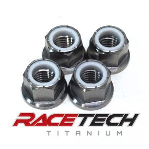 Titanium Sprocket Nuts (2014 KTM SX 85)