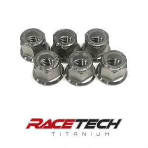 Titanium Sprocket Nuts (2011-13 KX 250 450)
