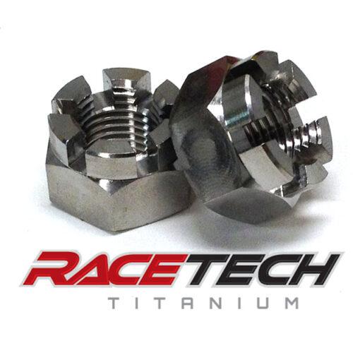 Titanium Spindle, Front Hub Nut (2009-15 YFZ450)