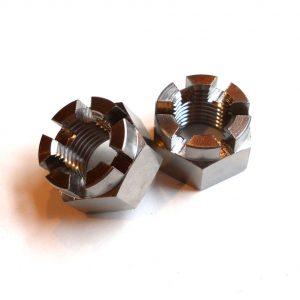 Yamaha Banshee Titanium Spindle Nut (M14x1.5)