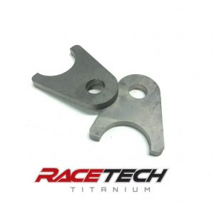 "Titanium Shock Tab 10mm Hole, 1"" Tube"