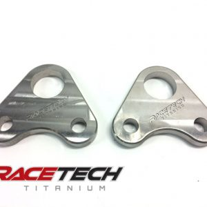 Honda TRX450 Titanium Foot Peg Base