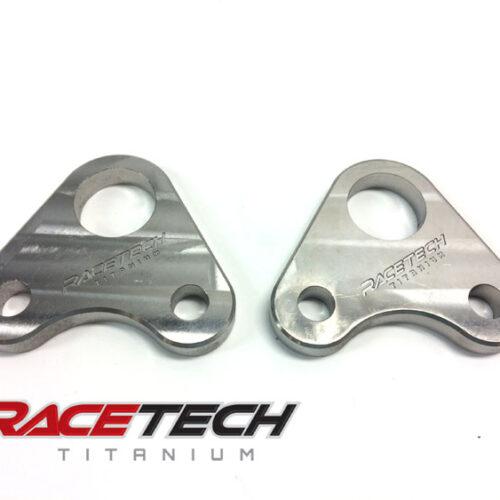 Honda TRX450 Titanium Foot Peg Base