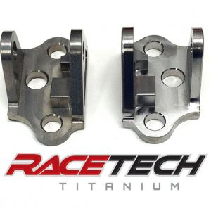 Titanium YZ Foot Peg Mounts (08-17 YZ 250 450)