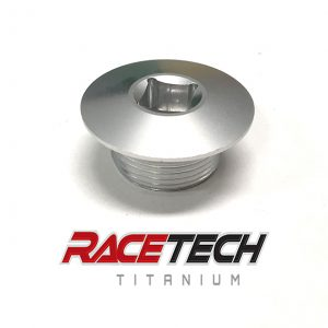 KTM Front Axle Nut (Clear Anodizing)
