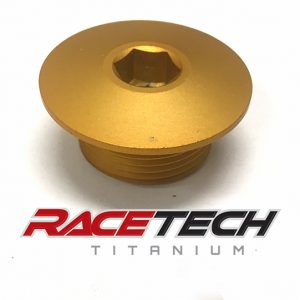 KTM Front Axle Nut (Gold Andodized)