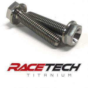 Titanium ECU Bracket To Frame Bolts (2014-18 YZ 250 450)