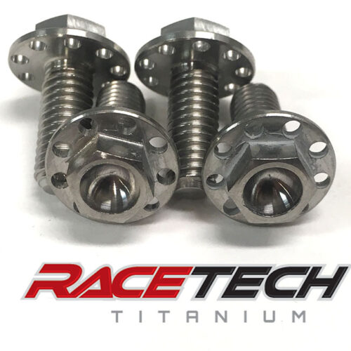 Titanium Brake Line Guide Bolts (2014-18 YZ 250 450)