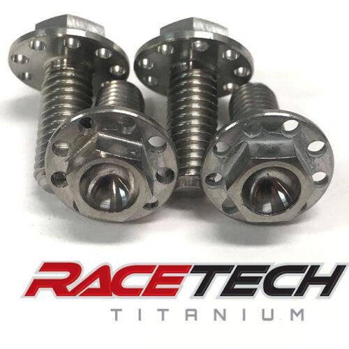 Titanium Brake Line Guide Bolts (2014-18 YZ 250 450)