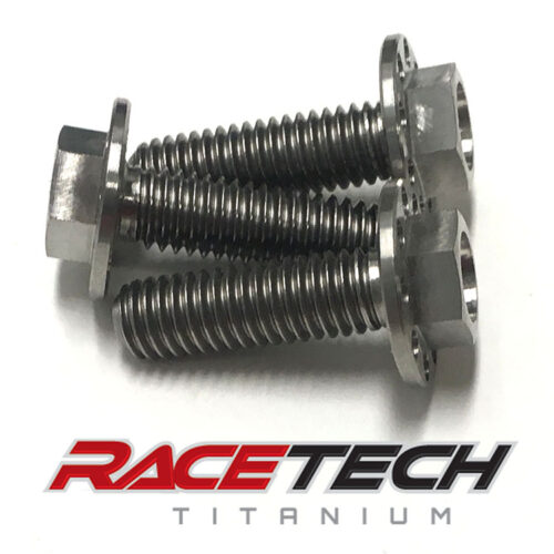 Titanium Engine Guard Bolts (2017-18 Suzuki RMZ 250 450)