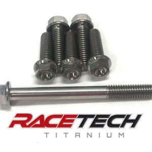 Titanium Clutch Cover Bolts (2010-13 CRF250)
