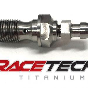 Titanium Banjo Bolt w/ Bleeder (2012 KTM SX 125)