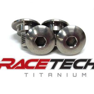 Titanium Airbox Bolts (2011 Yamaha YZ125)