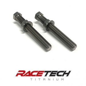 Titanium Chain Adjuster Nuts & Bolts (2011-13 KX 250 450)