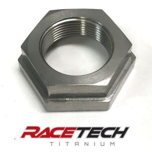 Titanium Counter Sprocket Nut (2014-18 Yamaha YZ 450)