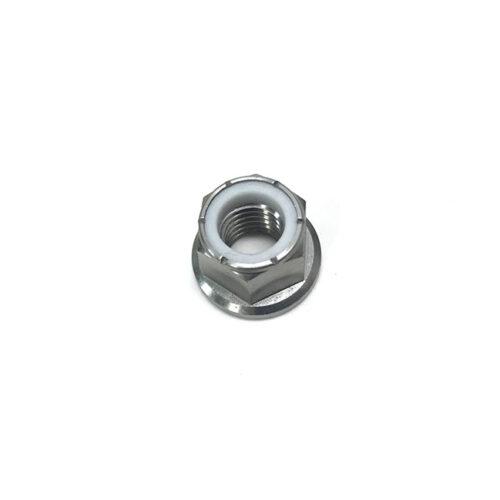 Titanium M8x1.25 Nylock Flange Nut