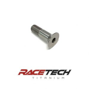 Titanium M10x1.5x35mm Flat Head Socket Cap Screw