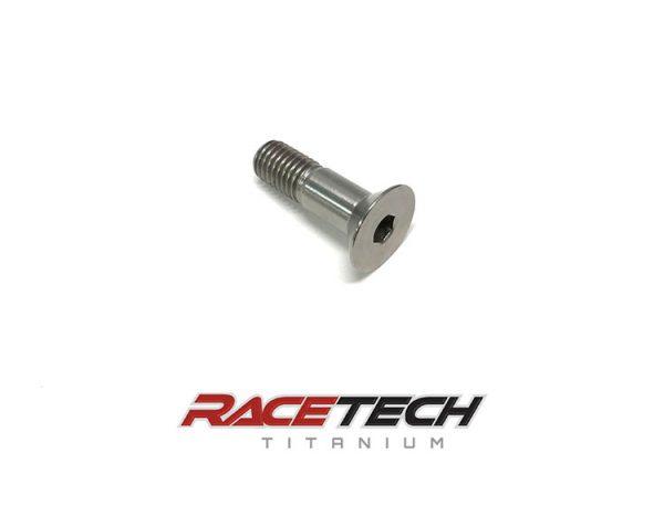 Titanium M10x1.5x35mm Flat Head Socket Cap Screw