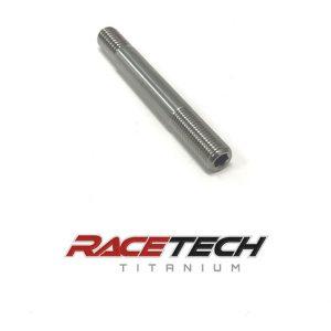 """Titanium 3/8-16x3/8-24 x 3"""" Injector Stud"""
