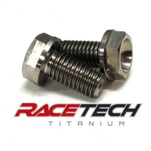 Titanium Brake Caliper Mount Bolts (2006 Suzuki RM 85)