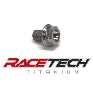 Titanium M6x10 Hex Head Flange Bolt