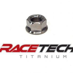 Titanium 7/16-14 Flange Nut