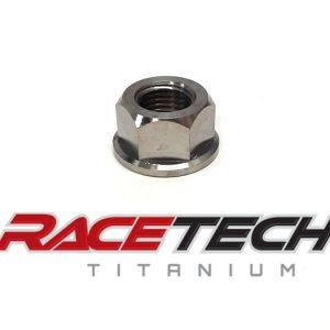 Titanium 1/2-20 Flange Nut