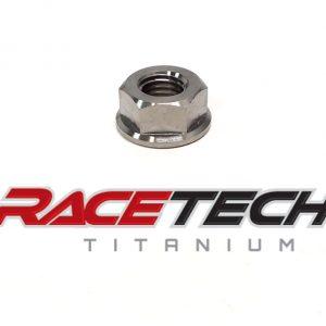 Titanium 5/16-18 Flange Nut
