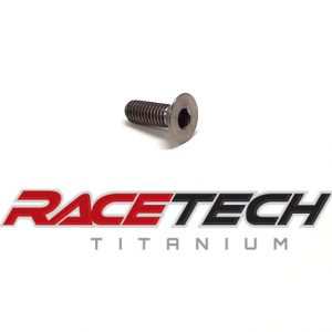 Titanium M4x0.7x12mm Countersink Bolt