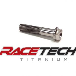 Titanium M8x40 Hex Head Flange Bolt