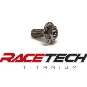 Titanium Rear Brake Reservoir Bolt (2013-14 Kawasaki KX85)