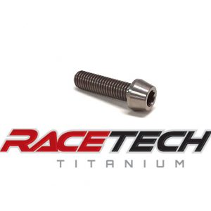 M8x25 Tapered Socket Head Titanium Bolt