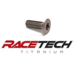 "Titanium 5/16-18 x 1""  Flat Head Bolt"