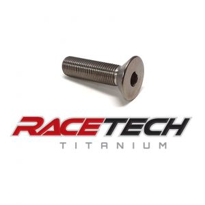 "Titanium 3/8-24 x 2"" Flat Head (Countersink) Bolt"