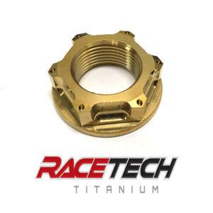 Titanium M22x1.5 Flange Nut