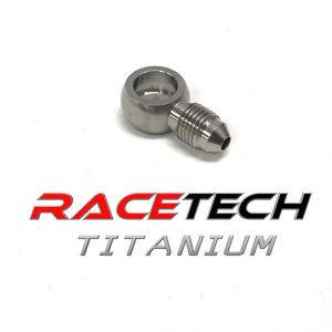 Titanium Banjo Adapter (3/8-24 AN Fitting)