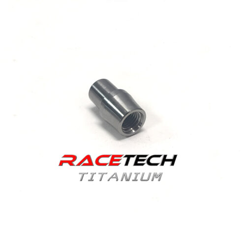 Titanium 5/16-24 Threaded Tube Adapter