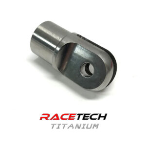 "Titanium Clevis for 1.25"" Tube"