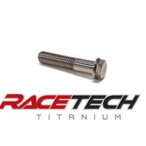 Titanium M8 Bolts | Metric Hex Head Flanged Bolts