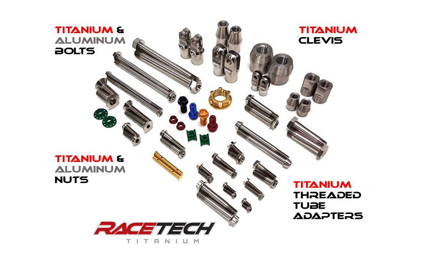 Racing Go Cart Titanium Screws Aluminum Countersunk Conical Washers /& Jet Nuts