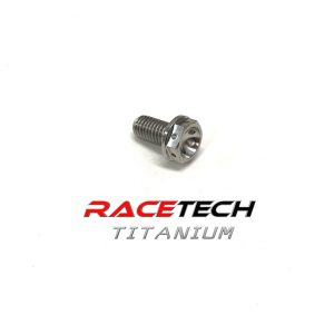 Titanium M8 Bolts | Metric Hex Head Flanged Bolts