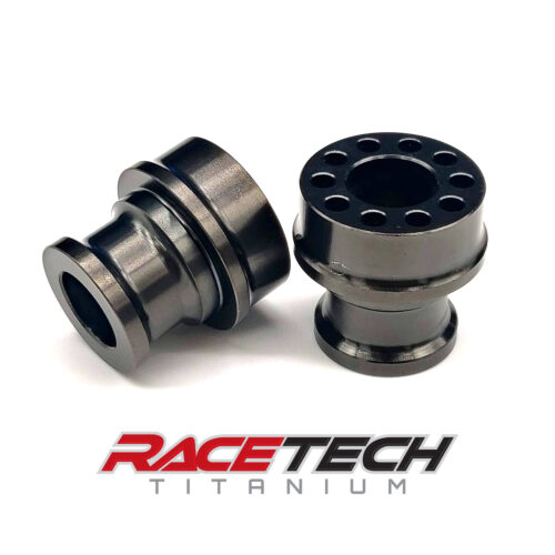 Titanium IndyCar Front Lower Wishbone Bushing - Tall (DLC Coated)