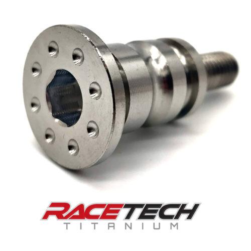 Titanium Dimpled Brake Pedal Pivot Bolt (2014-15 KX250) RT60572-1